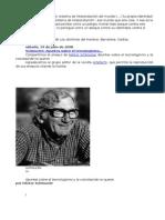[Schmucler, Hector] - Apuntes Sobre El Tecnologismo y La Voluntad de No Querer.