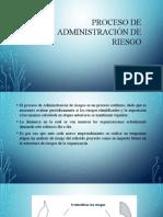 Proceso de Administración de Riesgo