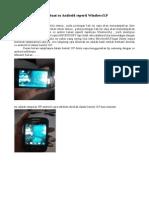 Membuat os Android seperti WindowsXP