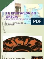 La Educacion Grecia
