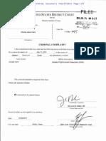 VonTrey Clark Arrest Documents