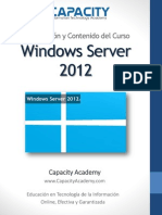 Brochure Curso Windows 2012 - Capacity