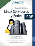 Brochure Curso Linux Servidores y Redes - Capacity