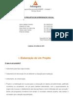 ATPS - Plano e Projetos de Intervenção Social