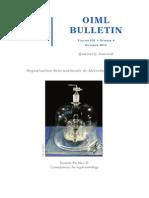 Oiml_bulletin - Artigo Redefinição Kg