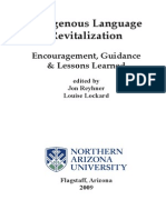 Rayhner & Lockard 2009 - Indigenous Language Revitalization