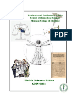 GMS 6871 Health Sciences Ethics Syllabus Summer 15