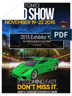 2015 Exhibitor Kit With Forms
