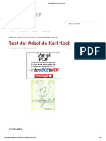 Test Del Árbol de Karl Koch