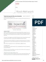 Tutorial de Inyección SQL Para Principiantes _ # Root-Net _ Seguridad, Software, Windows, e Informatica.