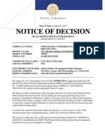 PTS 228729- Alvarado Creek Mant. Notice of Decision