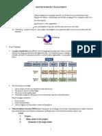 Chap03 - Project Management