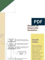 Modelo De Desarrollo Evolutivo - Ing. De Software