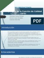 QFD-Sistemas Productivos
