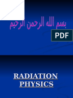 Radiation Physics