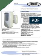 Catálogo Técnico Sensor de Movimento