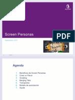 Screen Personas