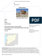 Kuil Baalshamin - Wikipedia Bahasa Indonesia, Ensiklopedia Bebas
