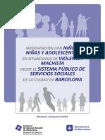 INTERVENCIÓN CON ADOLESCENTES FRENTE AL MACHISMO