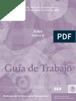 Guia de Trabajo Artes Danza II 0