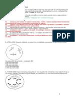 Exercicios de Embriologia