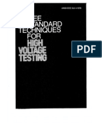 4-1978- IEEE Standard Techniques for High-Voltage Testing