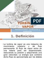 Turbina de Vapor Examen