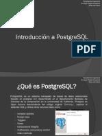 Introducción a PostgreSQL