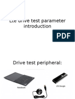 Lte Drive Test Parameter Introduction