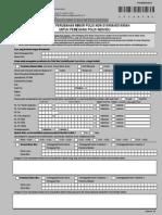 Form Perubahan Minor Non Syariah or Syariah Polis Perorangan