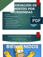Conservacion Por Microondas