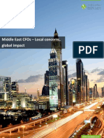 Middle East CFOs – Local Concerns, Global Impact