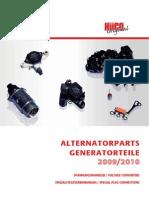 Alternatorparts Generatorteile