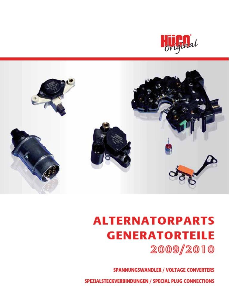 HÜCO Lichtmaschine Gleichrichter Diodenplatte 139690