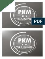 Desain Q Card PKM on Training