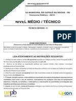 2 CP Catole Do Rocha Medio TecnicoRaioX