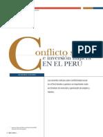 Conflicto Social e Inversión Minera en El Perú