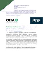 Acceso a la Informacion Publica - Redes Sociales - OEFA2