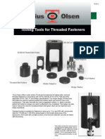 TD953 Threaded Fastener Tooling
