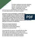 Joan - 50 AÑOS (Pista)