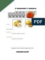 Jalea de Zanahoria y Naranja