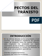 Aspectos Del Tránisto Diapositivas