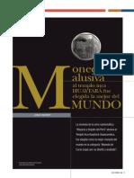 Moneda Alusiva Al Templo Inca Huaytará Fue Elegida La Mejor Del Mundo