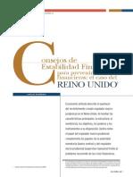 Consejos de Estabilidad Financiera Para Prevenir Las Crisis Financieras