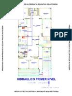 planta de instalaciones hidricas en edificio