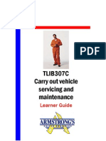 TLIB307C - Carry Out Vehicle Servicing and Maintenance - Learner Guide