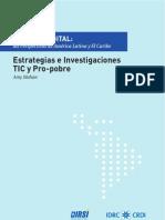 Capitulo 7 Estrategias e Investigaciones TIC y Pro-Pobre