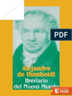 Breviario Del Nuevo Mundo - Alexander Von Humboldt