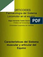 3.Corticoides. Farmacología del Sistema Locomotor en el equino