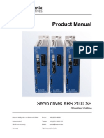 Product Manual Servo Drive ARS 2100